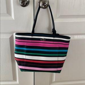 Kate Spade | Stripe Handbag
